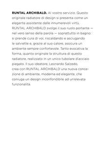 Radiatore Archibald