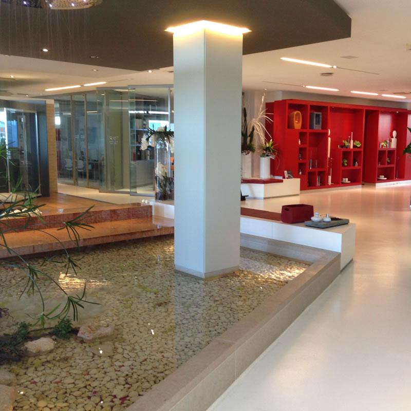 entrata showroom