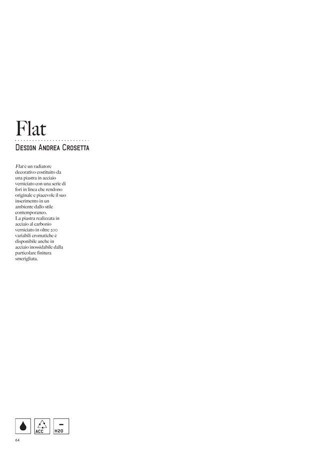 Radiatore Flat
