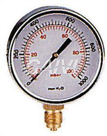 Foto MANOMETRO GAS 3/8 0-100 D.80