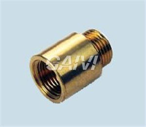 "Foto PROLUNGA OTTONE CROMATO FILETTATO 3/4"" MF X  30 MM 8540"