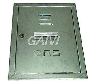 Foto SPORTELLO INOX 50X40 X CONTATORE GAS