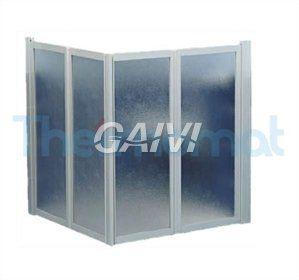 Foto BOX DISABILI 90X90 H. 100 SOFFIETTO